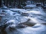 chladné vody Mumlavského vodopádu