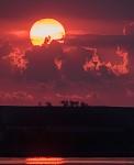 Západ slunce u Mušovských jezer II.