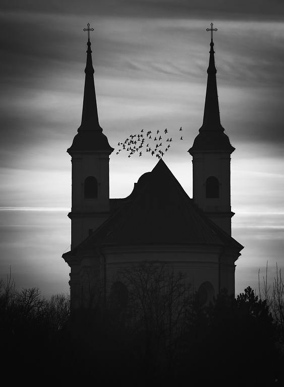 kostelík v čb