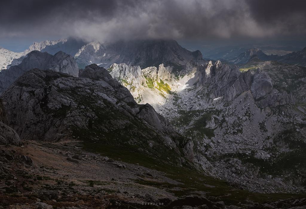 pohled z Bobotov Kuk - Černá Hora