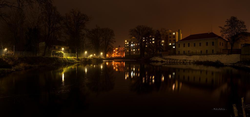 pohled z parku našeho městečka 2
