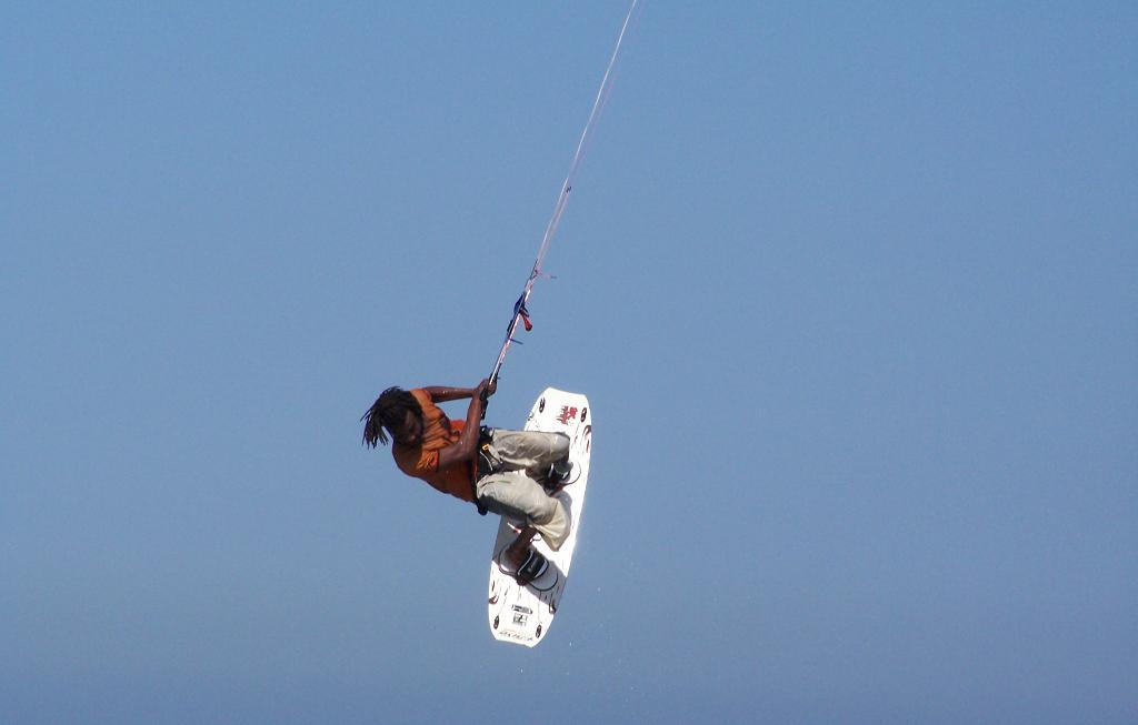 kiteboarding obrat