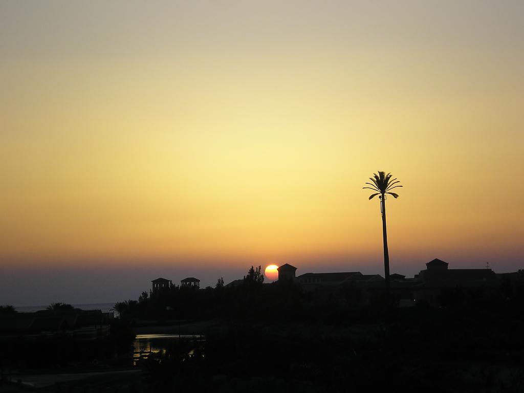 Západ na Níle