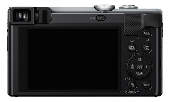 Panasonic Lumix TZ80 displej