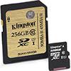Kingston navyšuje kapacitu SDXC UHS-I karet na 256 GB