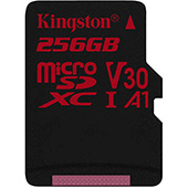 Kingston uvedl 256GB microSDXC kartu Canvas React