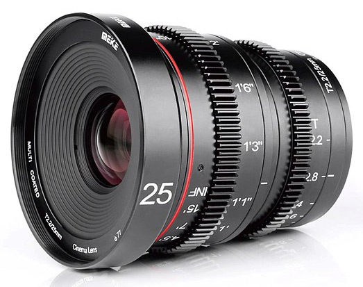 Meike T2.2/25mm Cinema Lens