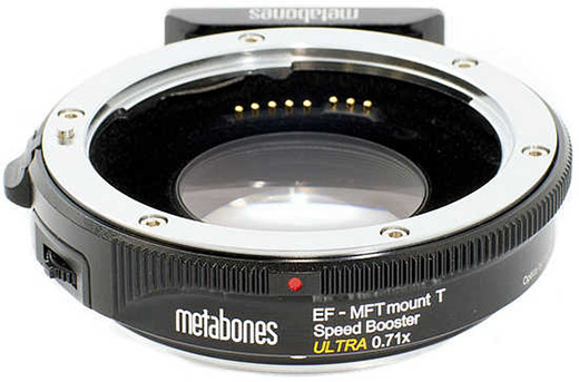 Metabones uvedl Speed Booster Ultra M43 0.71×