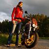 Nadšený fotograf a fotokurz pro motorkáře