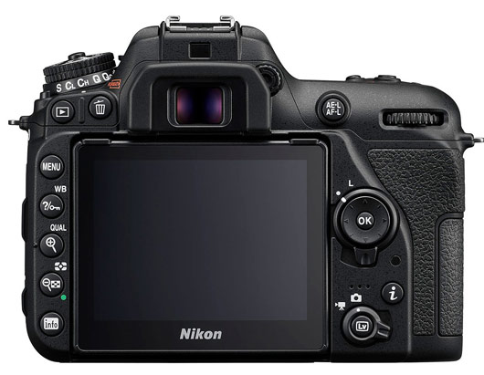 Nikon D7500 displej