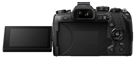 Olympus OM-D E-M1 Mark II displej