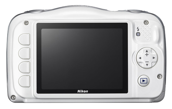 Nikon Coolpix W100 displej