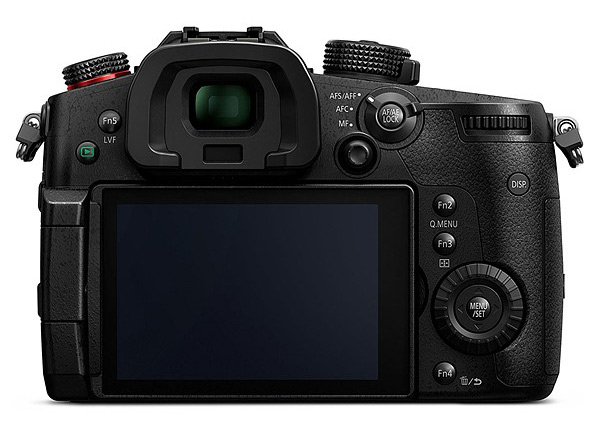 Panasonic Lumix GH3 displej