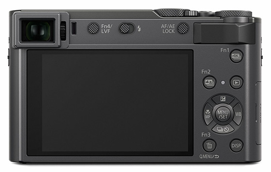 Panasonic Lumix TZ200 displej