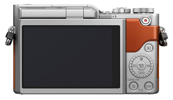 Panasonic Lumix GF10 displej
