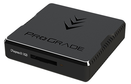 ProGrade CFexpress/XQD single-slot Thunderbolt 3