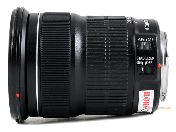 Canon EF 24-105mm IS STM prstence