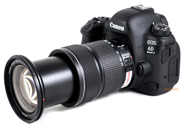 Canon EF 24-105mm IS STM na Canon EOS 6D Mark II