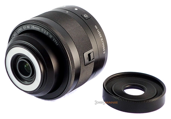 Canon EF-M 28mm F3.5 Macro IS LED