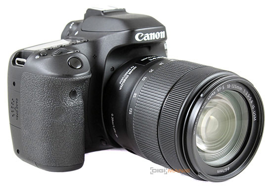 Canon EF-S 18-135mm IS USM na Canon EOS 80D
