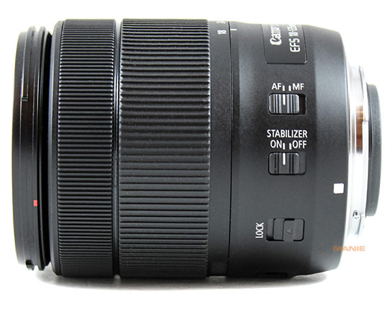 Canon EF-S 18-135mm IS USM prstence