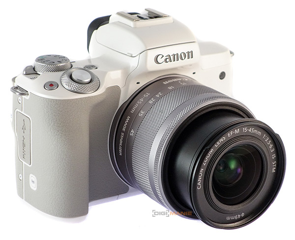 Canon EOS M50 celkový pohled
