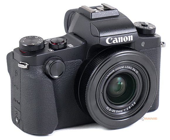 Canon PowerShot G1 X Mark III celkový pohled