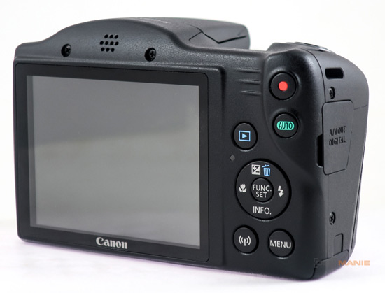 Canon PowerShot SX430 IS displej