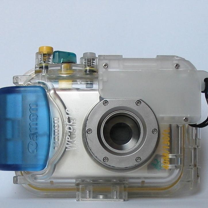 Canon WP-DC10: Podvodní pouzdro k IXUSu IIs