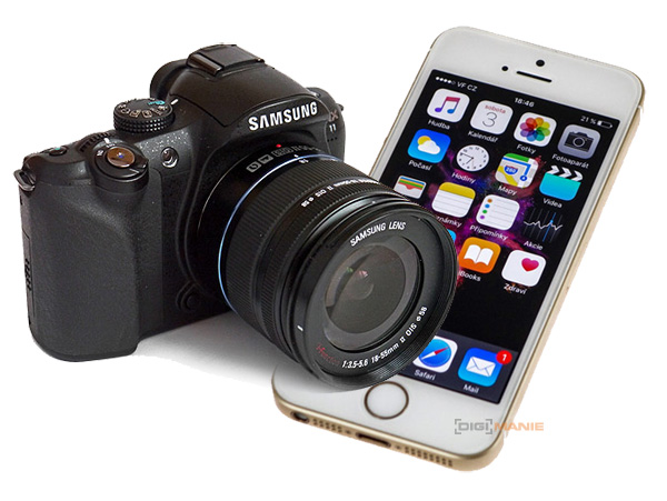 Samsung NX11 versus Apple iPhone SE