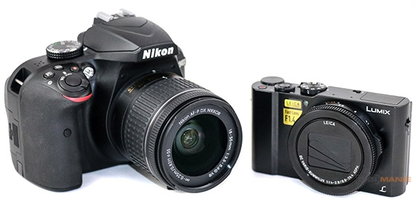 Nikon D3400 vs Panasonic Lumix LX15