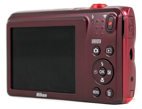 Nikon Coolpix A300 displej