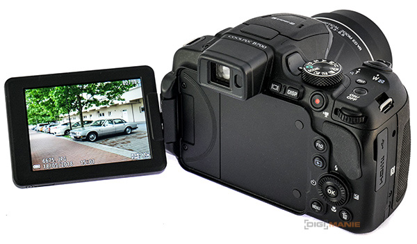 Nikon Coolpix P900 displej