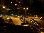 Noční scéna - citlivost ISO 100