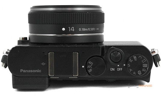 Panasonic Lumix G 14mm F2.5 II na Panasonicu GM5