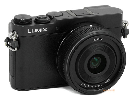 Panasonic Lumix G 14mm F2.5 II na Panasonicu Lumix GM5