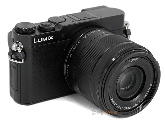 Panasonic Lumix G Vario 35-100mm F4-5.6 na Panasonicu GM5