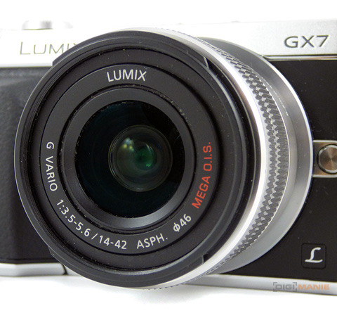 Panasonic Lumix GX7 objektiv 14-42mm II