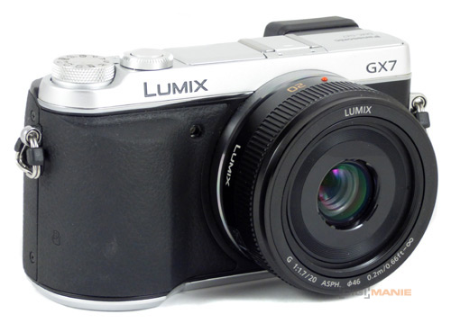 Panasonic Lumix GX7 objektiv 20mm F1,7 II