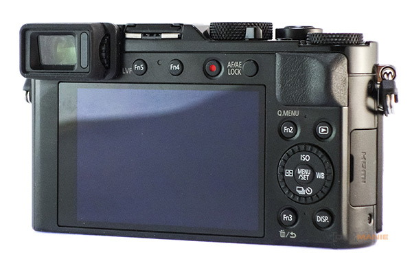 Panasonic Lumix LX100 II displej