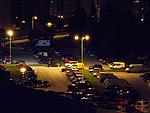 Noční scéna - citlivost ISO 800