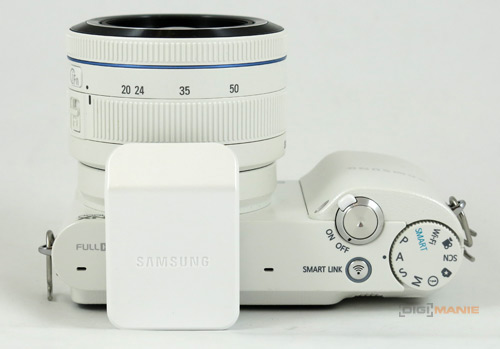 Samsung NX1000: sněhobílý bezdrát | Digimanie