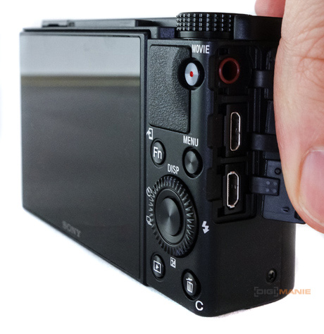 Sony Cyber-shot RX100 VII porty