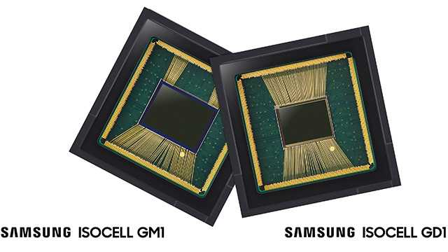 Samsung ISOCELL Bright GM1 a GD1