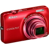 Tenký ultrazoom Nikon Coolpix S6300