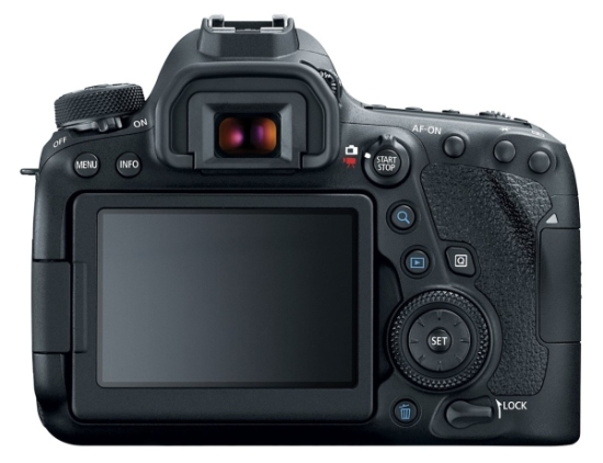 Canon EOS 6D Mark II displej
